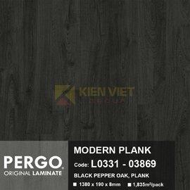 Sàn gỗ Pergo Sensation 03869  8mm