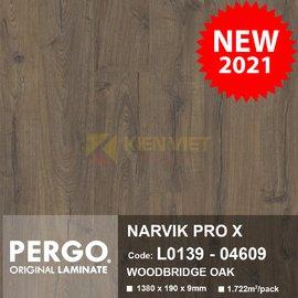 Sàn gỗ Pergo Narvik Pro X 04609 | 9mm