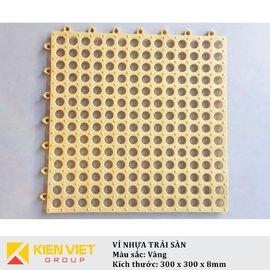 Vỉ nhựa PVC trải sàn sàn | Vàng