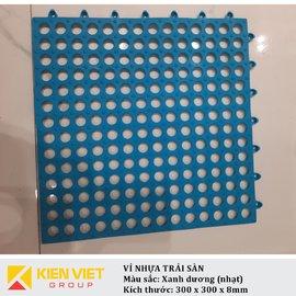 Vỉ nhựa PVC trải sàn sàn | Xanh dương nhạt