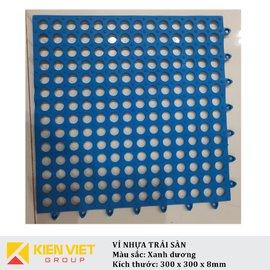 Vỉ nhựa PVC trải sàn sàn | Xanh dương