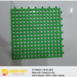 Vỉ nhựa PVC trải sàn sàn | Xanh lá cây