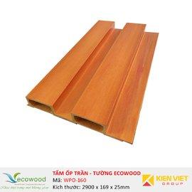 Tấm ốp tường trần EcoWood WPO-160 | 169x25mm