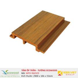 Tấm ốp tường trần 2 lớp vân 3D EcoWood WPO-9615CD | 106x15mm