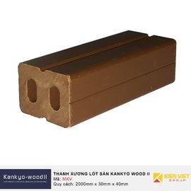 Thanh xương lót sàn ngoài trời Kankyo-wood II MKV-4030S-NA | 30x40mm