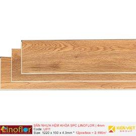 Sàn nhựa hèm khóa Linoflor SPC L611 | 4mm