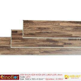 Sàn nhựa hèm khóa Linoflor SPC L613 | 4mm