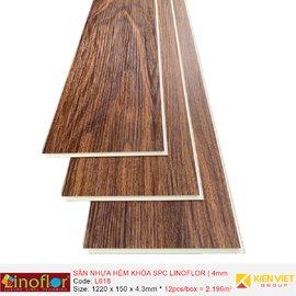 Sàn nhựa hèm khóa Linoflor SPC L618   4mm