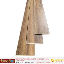 Sàn nhựa hèm khóa Linoflor SPC L625 | 4mm
