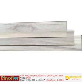 Sàn nhựa hèm khóa Linoflor SPC L628 | 4mm