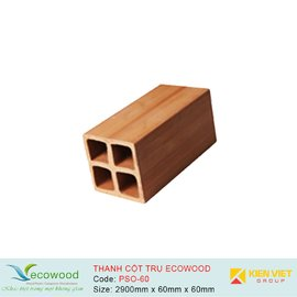 Thanh cột trụ Ecowood PSO-60 | 60x60mm
