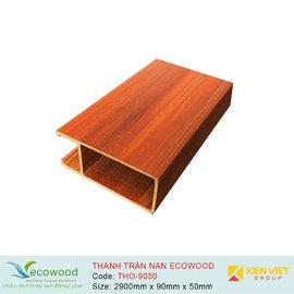 Thanh trần nan Louver EcoWood THO-9050 |90x50mm
