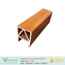 Thanh tay vịn Multipurpose Ecowood BKI-7550 | 75x50mm