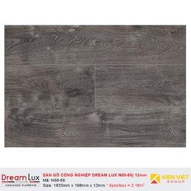 Sàn gỗ công nghiệp cốt đen Dream Lux N68-68 | 12mm