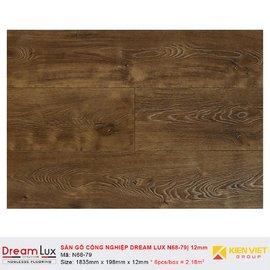 Sàn gỗ công nghiệp cốt đen Dream Lux N68-79 | 12mm
