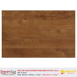 Sàn gỗ công nghiệp cốt đen Noblesse N16-98 | 12mm