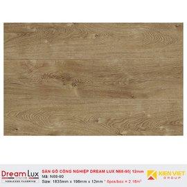 Sàn gỗ công nghiệp cốt đen Dream Lux N68-90 | 12mm
