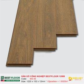 Sàn gỗ công nghiệp Best Floor MS89   12mm