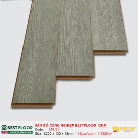Sàn gỗ công nghiệp Best Floor MS91   12mm