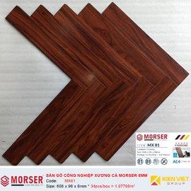 Sàn gỗ công nghiệp xương cá Morser MX81 | 8mm copy