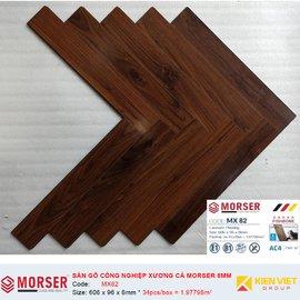 Sàn gỗ công nghiệp xương cá Morser MX82 | 8mm