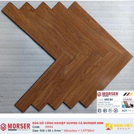 Sàn gỗ công nghiệp xương cá Morser MX84 | 8mm