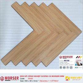 Sàn gỗ công nghiệp xương cá Morser MX86 | 8mm