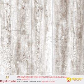 Sàn nhựa hèm khóa Royal Crystal SPC Classic Oak   RCFW103-1 | 4.2mm