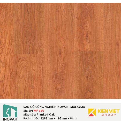Sàn gỗ công nghiệp Inovar - Malaysia MF330 Planked Oak | 8mm