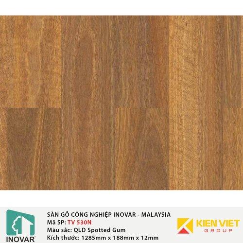 Sàn gỗ Inovar Nanoshield TV530N QLDSpotted Gum   12mm