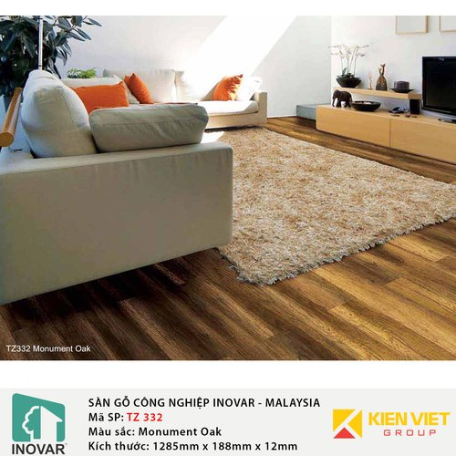 Sàn gỗ Inovar Traffic Zone TZ332 Monument Oak | 12mm