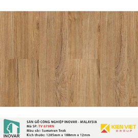 Sàn gỗ Inovar Nanoshield TV368N Sumatran Teak | 12mm