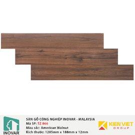 Sàn gỗ Inovar Traffic Zone TZ866 American Walnut | 12mm