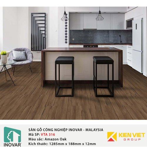 Sàn gỗ Inovar Elite Pro VTA316 Amazon Oak | 12mm