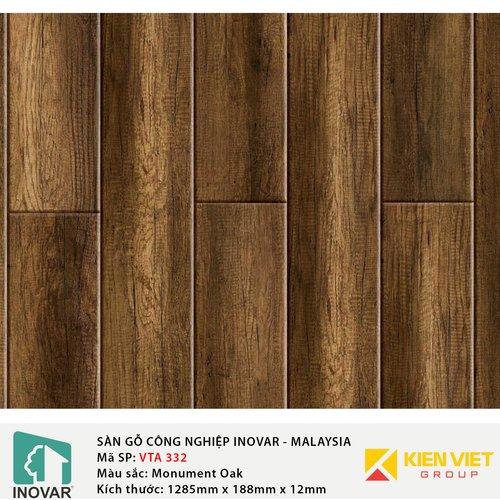 Sàn gỗ Inovar Elite Pro VTA332 Monuement Oak   12mm