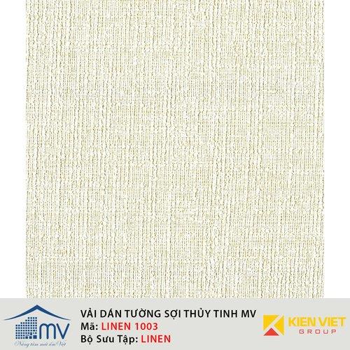 Vải sợi thủy tinh dán tường MV LINEN 1003