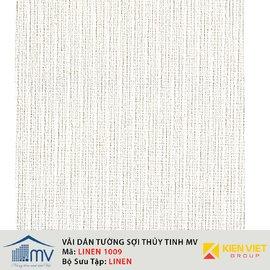 Vải sợi thủy tinh dán tường MV LINEN 1009