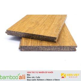 Sàn tre ép khối màu cafe VDA 10mm