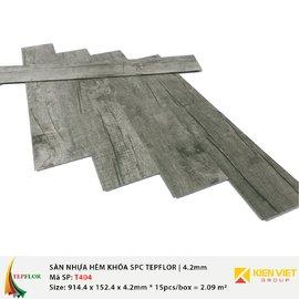 Sàn nhựa hèm khóa SPC TepFlor T404 | 4.2mm