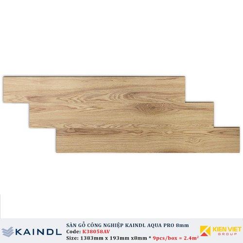 Sàn gỗ công nghiệp Kaindl AquaPro Select K38058 | 8mm