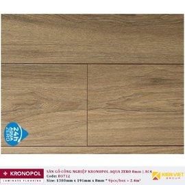 Sàn gỗ Kronopol Aqua Prime D3712 Athena Walnut | 8mm