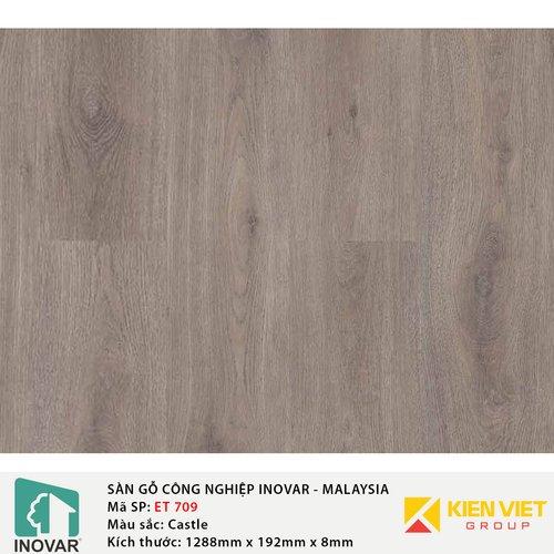 Sàn gỗ công nghiệp Inovar - Malaysia ET709 Castle   8mm