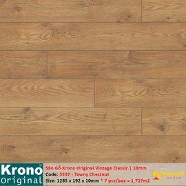 Sàn gỗ Krono Vintage Classic 5537 Tawny Chestnut | 10mm