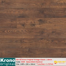 Sàn gỗ Krono Vintage Classic 5539 Bakersfield Chestnut | 10mm