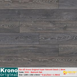 Sàn gỗ Krono Super Natural Classic 5541 Bedrock Oak | 8mm
