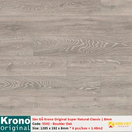 Sàn gỗ Krono Super Natural Classic 5542 Boulder Oak | 8mm copy copy copy copy copy