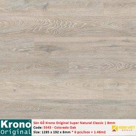 Sàn gỗ Krono Super Natural Classic 5543 Colorado Oak | 8mm