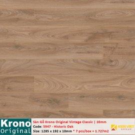 Sàn gỗ Krono Vintage Classic 5947 Historic Oak | 10mm