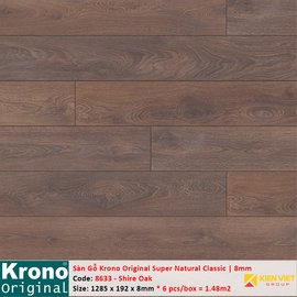 Sàn gỗ Krono Super Natural Classic 8633 Shire Oak | 8mm