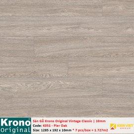 Sàn gỗ Krono Vintage Classic K051 Pier Oak | 10mm